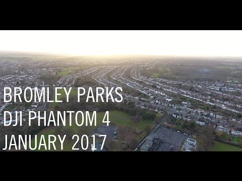 Bromley Parks from above 2017 - DJI Phantom 4