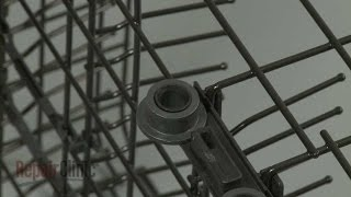 Dishwasher Dish Rack Roller Replacement (Lower)  – GE Dishwasher Repair (Part #WD12X10435)