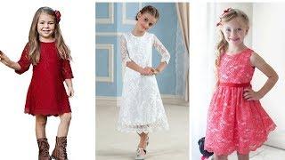VESTIDOS DE NIÑAS CON ENCAJE ♥ #Moda #Fashion #Vestidos
