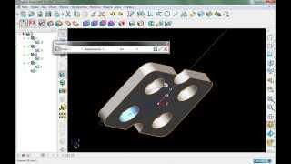 PowerSHAPE. 2 пример: тела вытягивания
