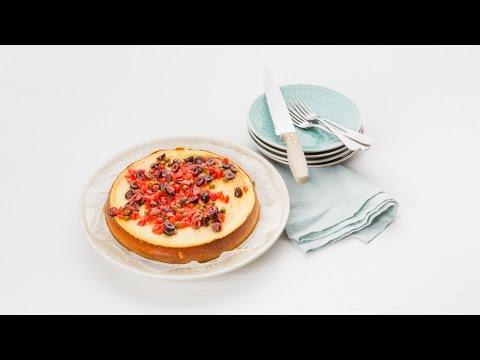 Hartige geitenkaas-cheesecake met bloemkool en antiboise – Allerhande