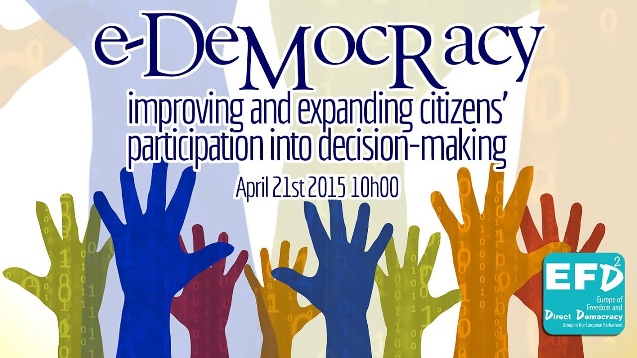 media citizen participation and democracy From the vantage point of development, democratic governance can be a   participatory' role of the media focuses on media's 'centrifugal' tendencies  towards  speak freely in the formulation of public policy and the courage to  highlight anti.