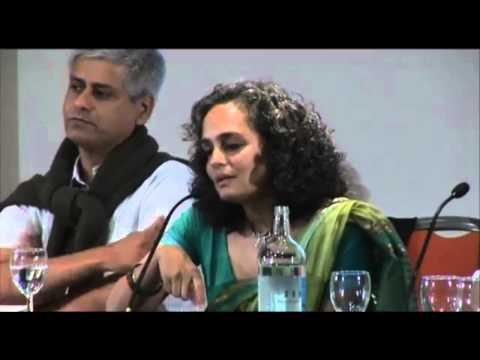 Arundhati Roy explains why she thinks India is a corporate, upper caste state
