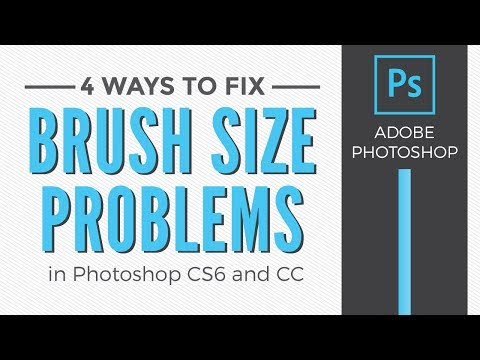 Photoshop Brush Problem - Brush or Cursor is too small - Graphic Design How to