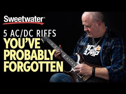 5 Epic AC/DC Riffs You've Probably Forgotten 🎸 | Guitar Lesson