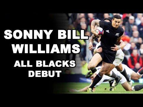 Sonny Bill Williams All Blacks Debut