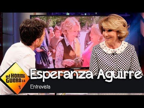 """Esperanza Aguirre en El Hormiguero 3.0: """"Algunos quieren que me fusilen al amanecer"""""""