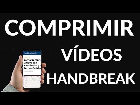 Cómo Comprimir Vídeos con Handbrake y no Perder Calidad