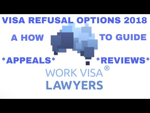 Australian Visa Refusal Notification Options for the Appeal & Review