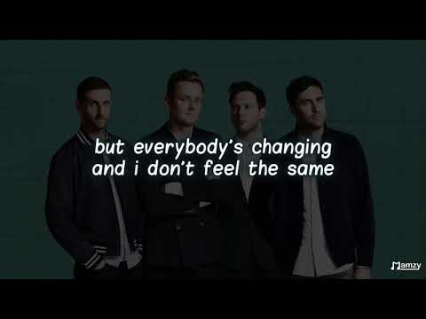 Keane - everybody's changing lyric video