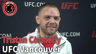 Tristan Connelly Reacts to Winning $100,000 Fight Night Bonus | UFC Vancouver | Post-Fight