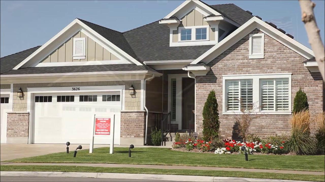 Ivory homes murano floor plan youtube for Ivory home plans