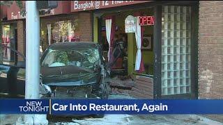 Car Into Restaurant, Again