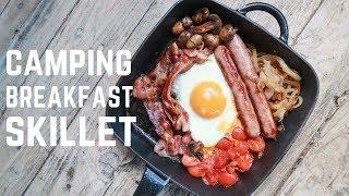 Cast Iron Breakfast Skillet - One Pan Camping Breakfast - Campervan Cooking