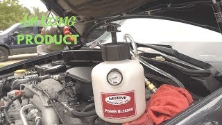How To Bleed Brakes With Motive Products Power Bleeder