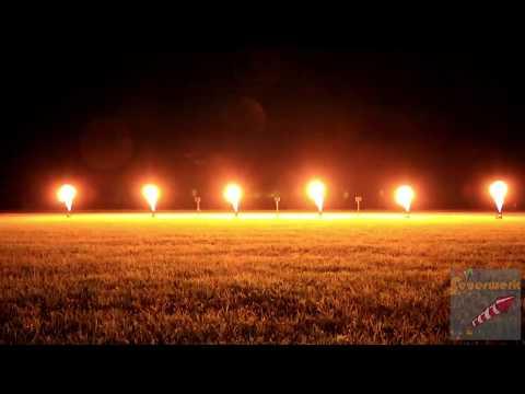 Flammenshow Expelled (10 Projektoren)