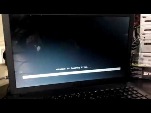 Установка Windows 7 на Asus X552CL с флешки