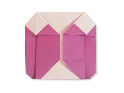 Cách Gấp, Xếp áo Khoác Nữ Bằng Giấy Origami - Video Hướng Dẫn