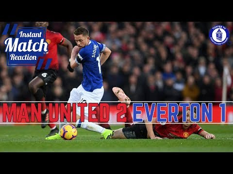 Manchester United 2-1 Everton | United End Blues Winning Run