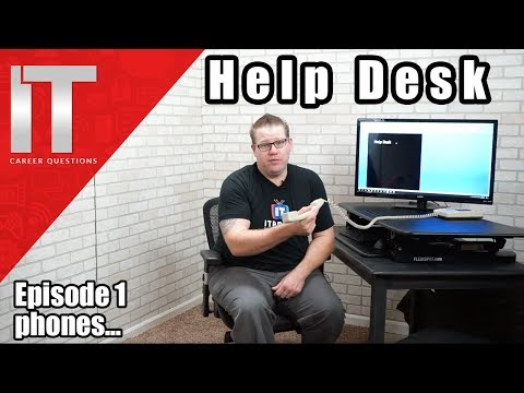 Help Desk Training - Answering The Phone - Episode 1