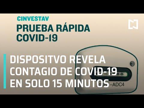 Cinvestav IPN desarrolla dispositivo que detecta Covid-19 en 15 minutos - En Punto