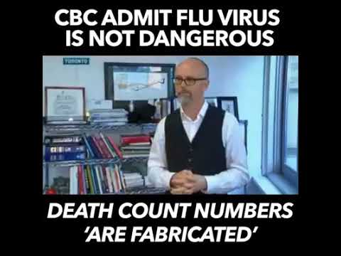 CBC Flu Stats Based On ZERO Evidence