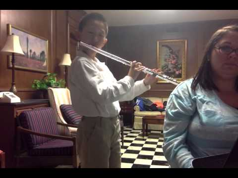 Lightly Roasted Chestnuts duet with Ray Wu, age 9