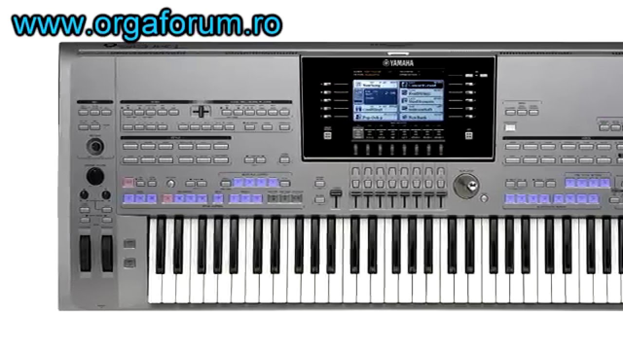 Would you like YAMAHA TYROS 6 ? - YouTube Yamaha Genos