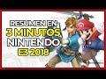 ¡¡¡RESUMEN 3 MINUTOS!!! E3 2018 NINTENDO DIRECT | Super Smash Bros Ultimate, Super Mario Party y más