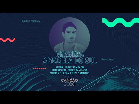 Filipe Sambado - Gerbera Amarela do Sul (Lyric Video) | Festival da Canção 2020
