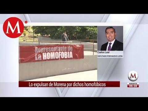 Morena expulsa a diputado en NL por dichos homofóbicos