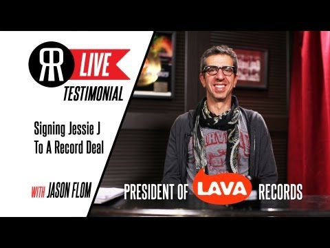Jessie J: Signing A Record Deal w/ Lava Records Pres. Jason Flom
