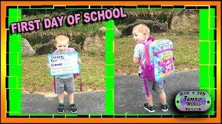 Teagan goes to School & Bin is Back to Work!