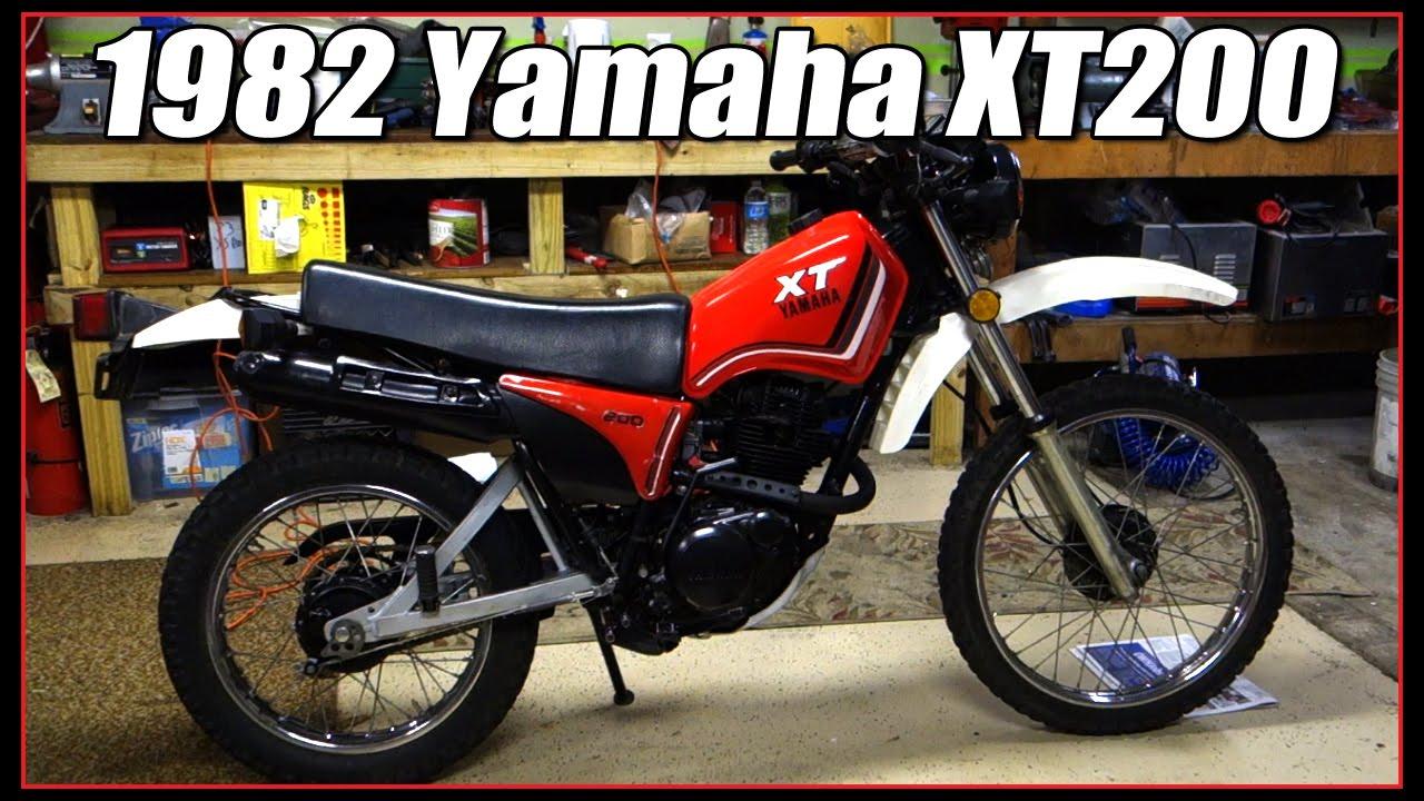 1982 yamaha xt200 part 2 youtube  1982 yamaha xt200 part 2