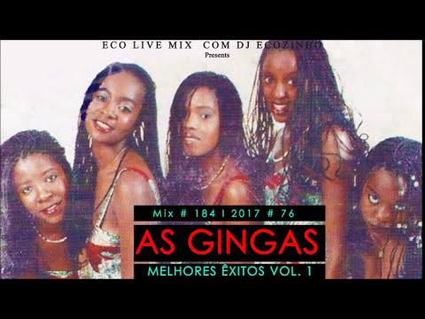 As Gingas - Best Of (Melhores Êxitos ) Vol.1 - Eco Live Mix Com Dj Ecozinho