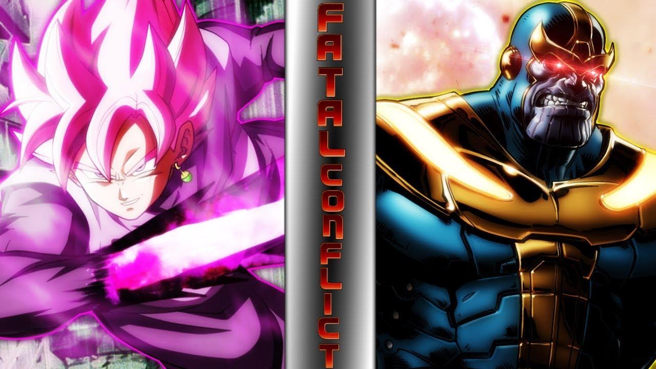 Goku Vs Thanos: GOKU BLACK Vs THANOS! (Dragon Ball Super Vs Marvel
