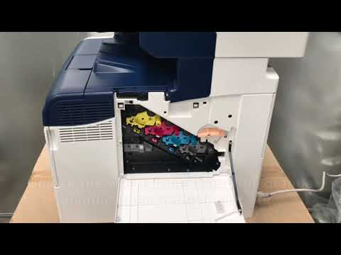 How to Change the Waste Toner - Xerox WorkCentre - 6605