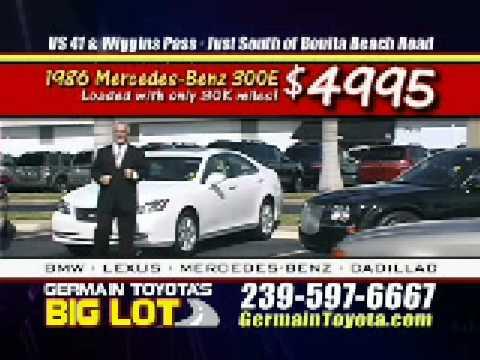Germain Toyota Big Lot Spectacularsavings Naples Florida