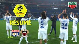 Olympique Lyonnais - OGC Nice ( 2-1 ) - Résumé - (OL - OGCN) / 2019-20