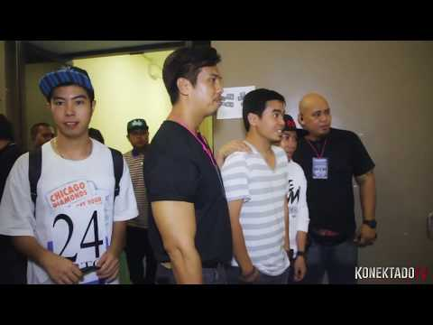 Gloc-9 & Death Threat  back stage Araneta Dreams
