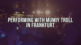 """Mumiy Troll """"Swimming With The Sharks""""   Frankfurt, DE 2015   Go Pro Stage Cam"""
