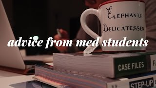 Advice From Medical School Students | 3rd Year of Medical School | VLOGMAS 5