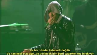 Download Eminem & 50 Cent - Crack A Bottle  (Live) (Türkçe Altyazılı) MP3 song and Music Video