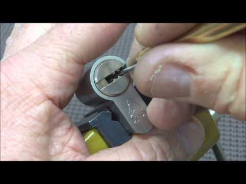 Bobby Pin Lock Pick 10-pin Lock Picked Open