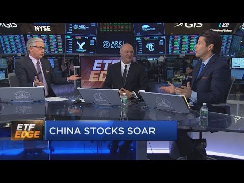 Chinese stocks soar off US-China trade talks