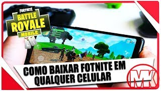 Left!! How to DOWNLOAD INSTALL FORTNITE on any ANDROID PHONE (100% OFFICIAL)