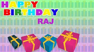 Raj - Card Tarjeta_1627 - Happy Birthday