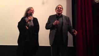 Robert Hossein et Marina Vlady au cinéma Mac Mahon  le 6/10/2015