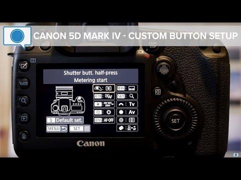 Canon 5D Mark IV Tips & Tricks - Custom Button Setup (Fixed Audio)