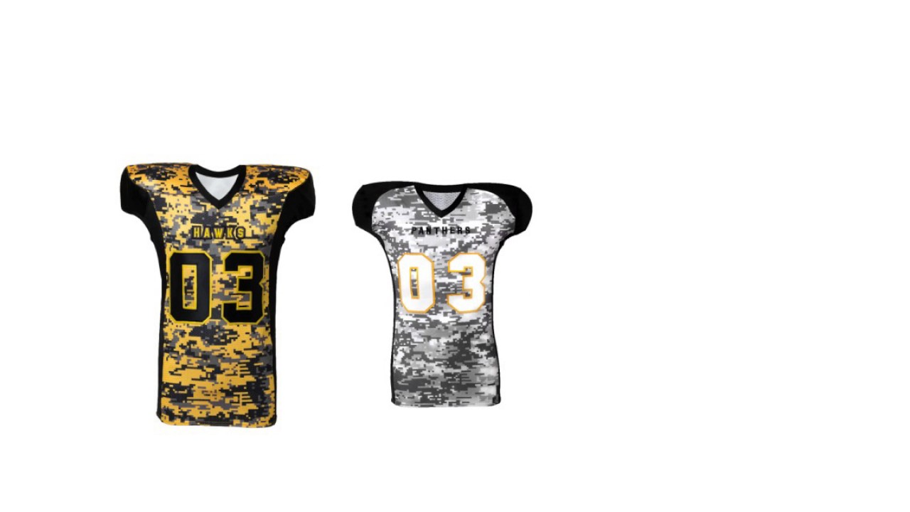 98d8c573b38 Customize Your Own Jersey Football - YouTube